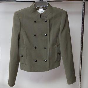 Calvin Klein Button Closure Jacket Size 2